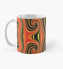 Tribal Orange Mug
