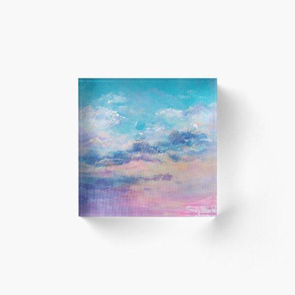 Good Morning  Acrylic Block
