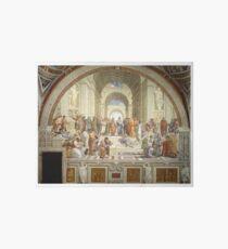 The School of Athens, Italian Renaissance, artist, Raphael Art Board