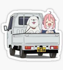Nadeshiko to Inu | Yuru Camp / Laid-Back Camp Sticker