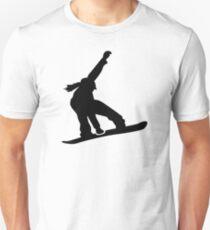 Snowboard Mädchen Unisex T-Shirt
