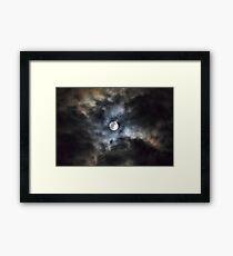 As Is~ Full Moon~ 3/9/2015 Framed Print