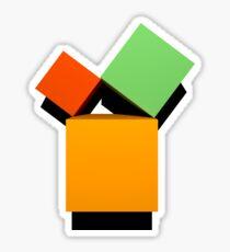 Satz des Pythagoras 3D Sticker