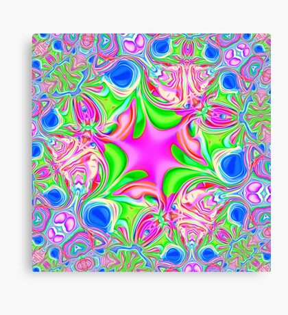Colors, funky, funky! Canvas Print