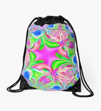 Colors, funky, funky! Drawstring Bag