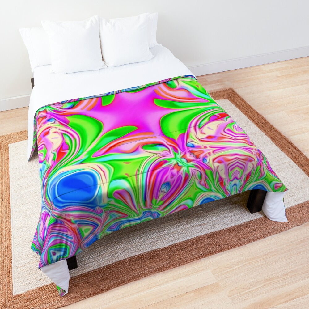 Colors, funky, funky! Comforter
