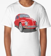Red Bug Long T-Shirt