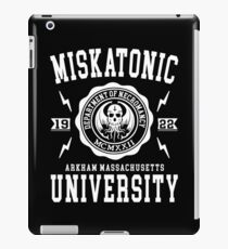 CTHULHU - MISKATONIC UNIVERSITY iPad Case/Skin