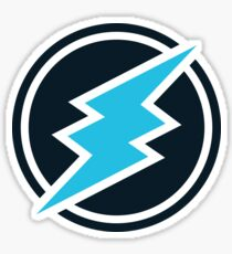 Electroneum ETN Crypto Currency Icon Sticker