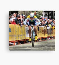 competition grin Canvas Print