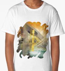 Thurisaz  Rune Digital Art composition Long T-Shirt