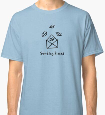 Sending kisses Classic T-Shirt