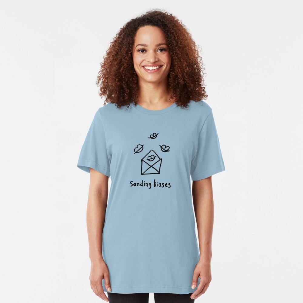 Sending kisses Slim Fit T-Shirt