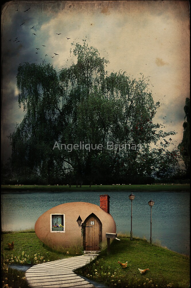 Home sweet home by Angelique Brunas