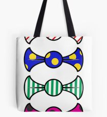 Multiple colourful bow ties. Tote Bag