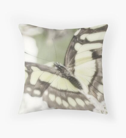 The Malachite Throw Pillow