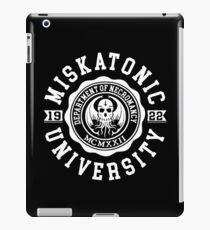 CTHULHU - MISKATONIC UNIVERSITY - LOVECRAFT iPad Case/Skin