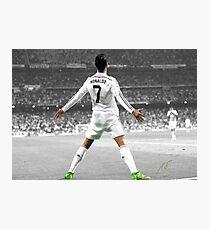 Cristiano Ronaldo 7 Photographic Print