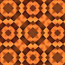 Pattern in Warm Tones by Lyle Hatch