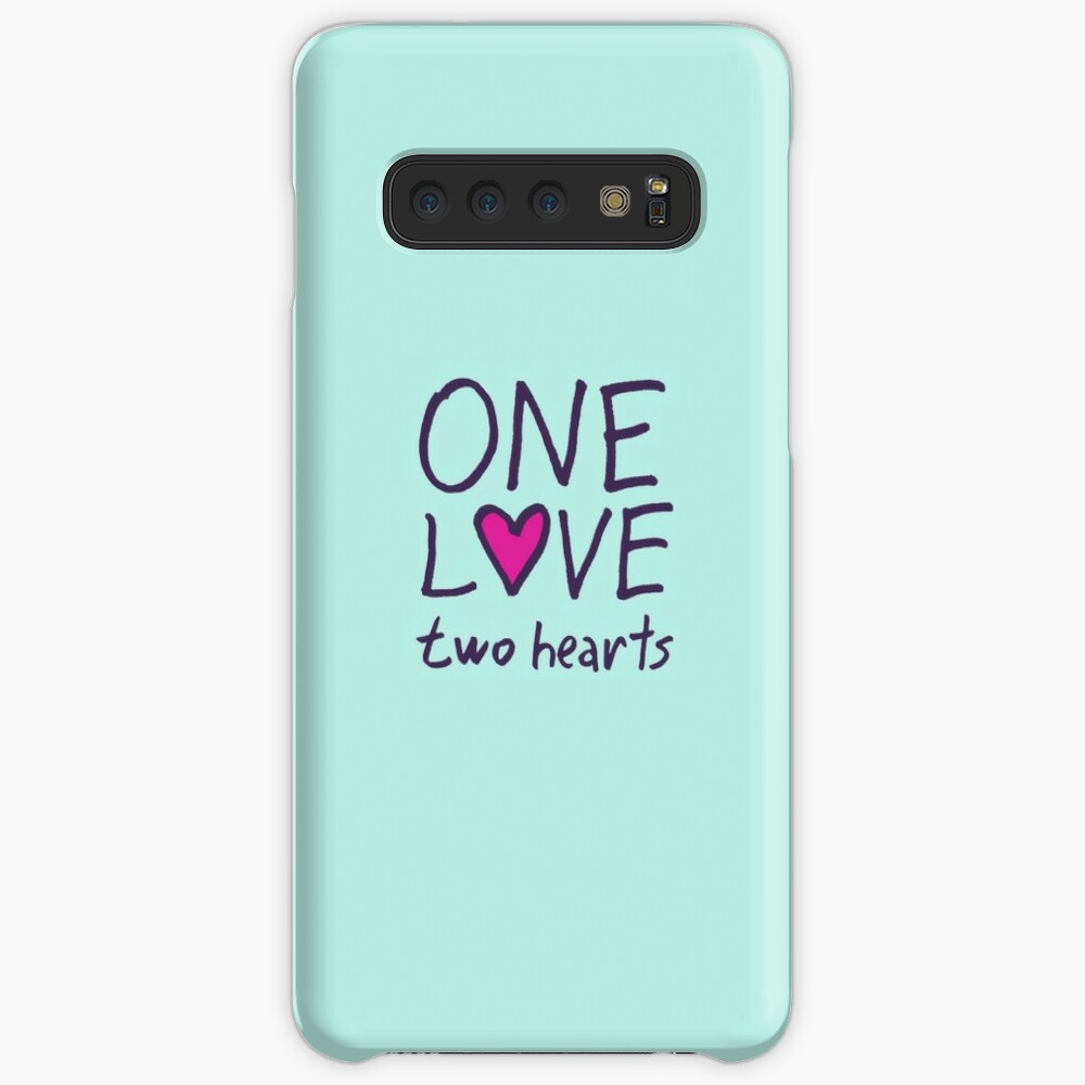 One Love Two Hearts Case & Skin for Samsung Galaxy