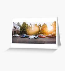 RWB Porsche Portland Greeting Card