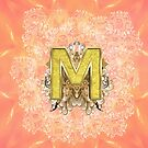 Capital Letter Monogram Initials design by NadineMay