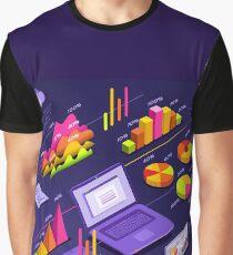 Presentation Statistics Statistic Element Graphic T-Shirt