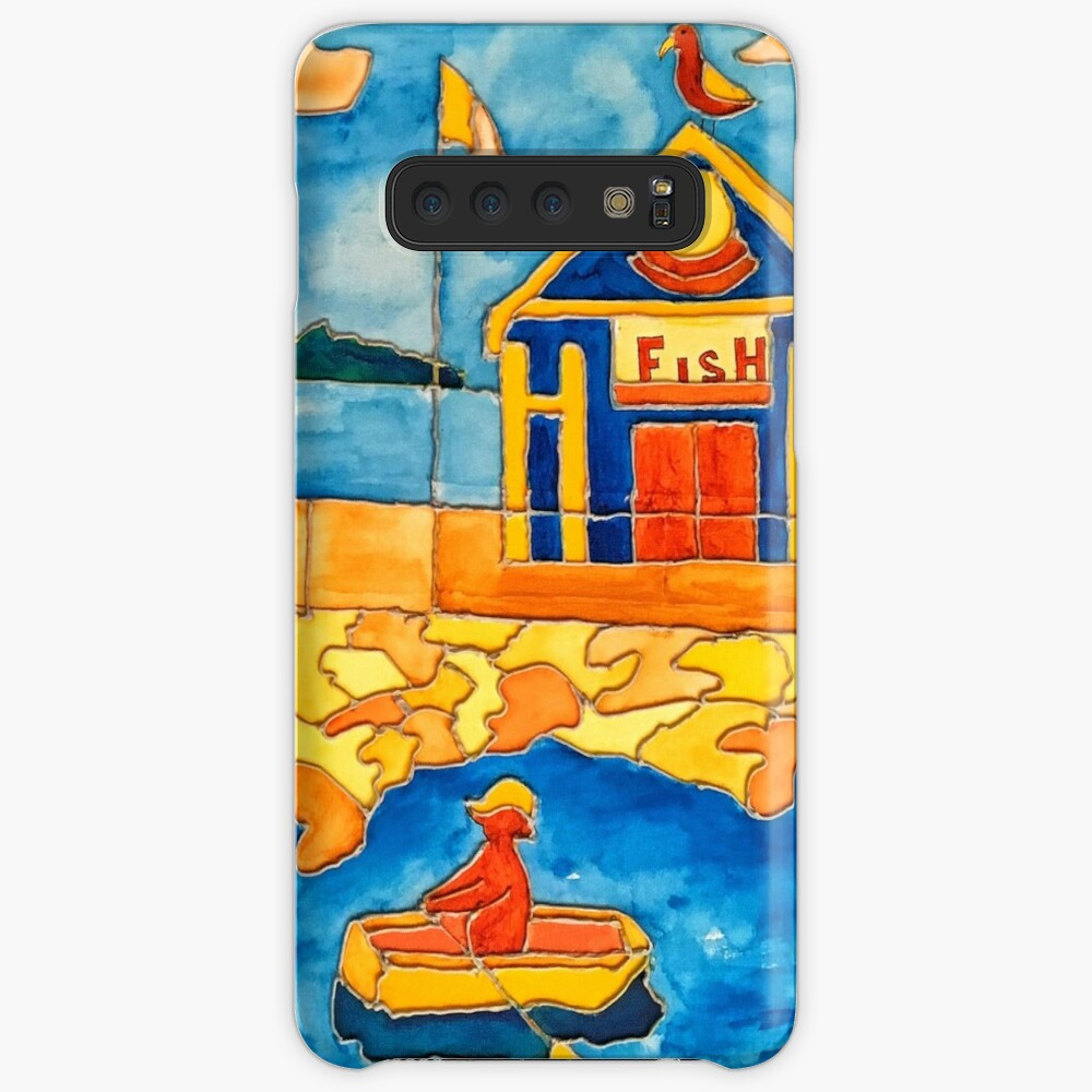 CUTE ROWING FUNNY QUOTE OCEAN ART Case & Skin for Samsung Galaxy