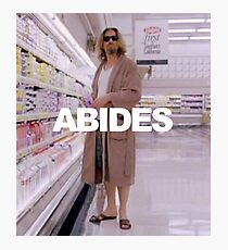ABIDES Photographic Print