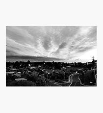 suburbia Photographic Print