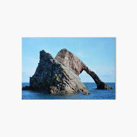 Bow Fiddle Rock and Boat Art Board Print