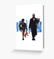 LÉON THE PROFESSIONAL Greeting Card