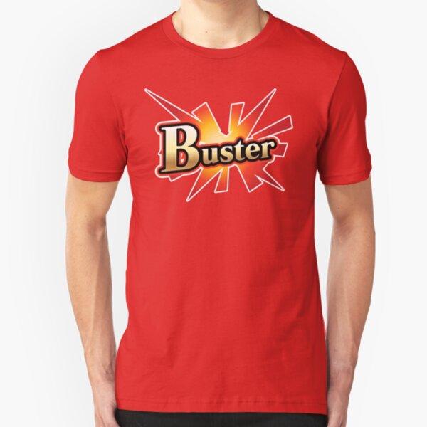 FGO Buster Card Shirt Slim Fit T-Shirt