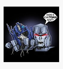 TF - Megatron Photographic Print