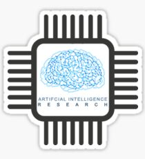 Artificial Intelligence Research TShirts for AI Lovers Sticker