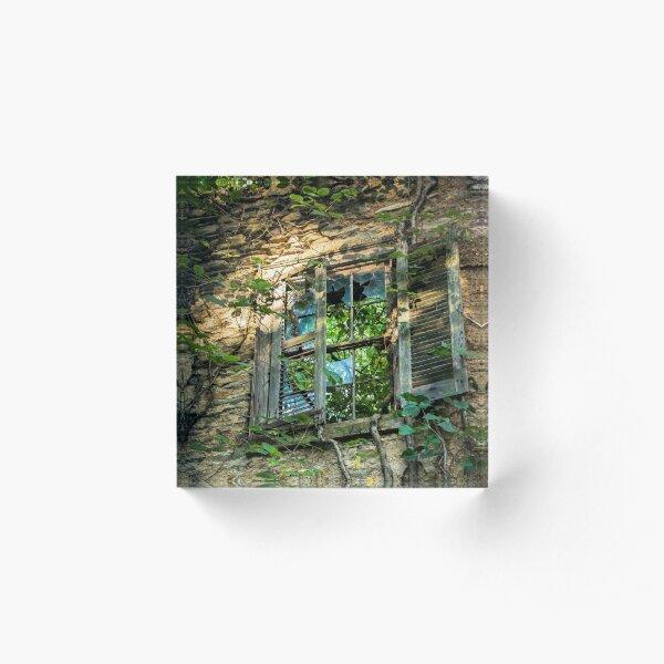 Window Pain Acrylic Block