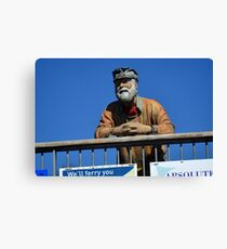 King Harry Ferry Figure.......... Canvas Print