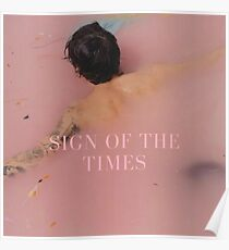 harry SOTT in pink Poster