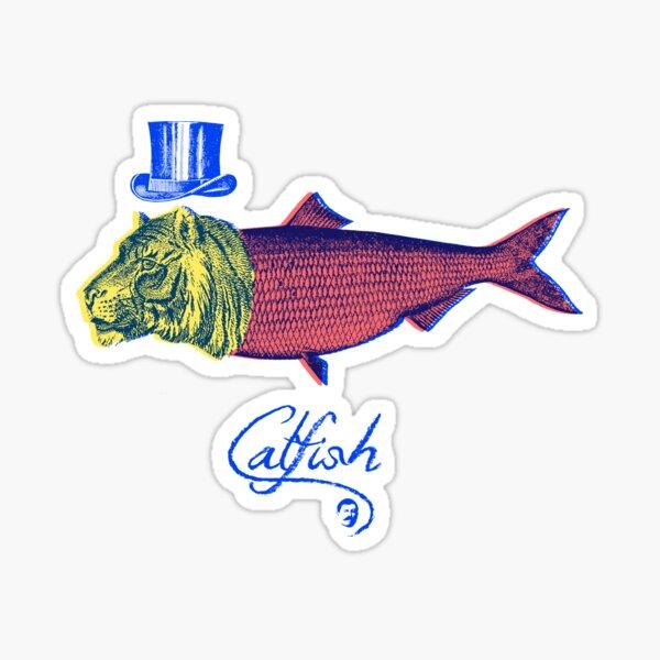 Catfish Pegatina