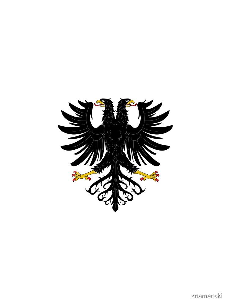 Double-headed eagle, emblem, coat of arms, symbol, sign,  eagle, carnival, holiday, carnival costume, Purim by znamenski