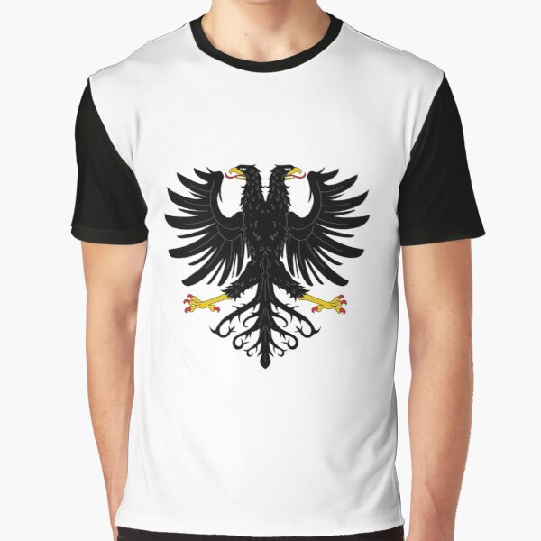 Double-headed eagle, emblem, coat of arms, symbol, sign,  eagle, carnival, holiday, carnival costume, Purim Graphic T-Shirt