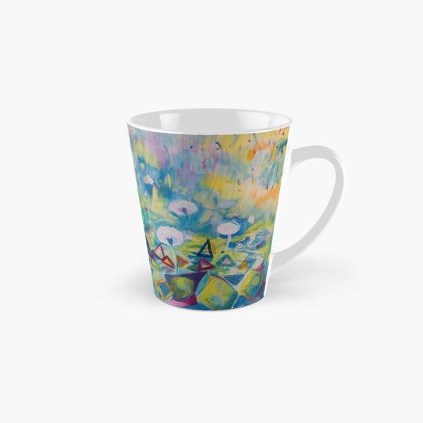 Dandelions Abstract Patterns Tall Mug