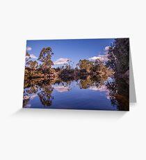 Reflection  -  Narcissis River  Greeting Card