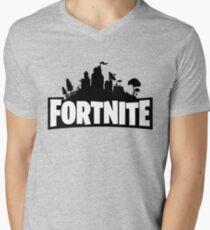 #Fortnite Men's V-Neck T-Shirt