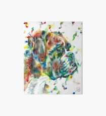 WATERCOLOR BOXER Art Board