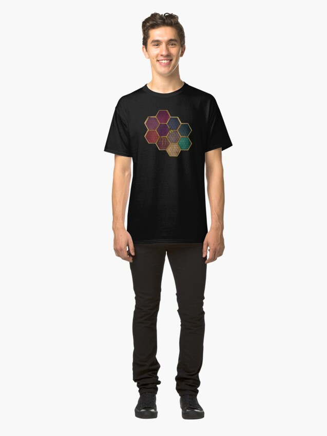 Alternate view of Nectar and Bees Classic T-Shirt