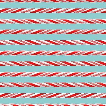 Candy Cane Stripes by AnastasiiaM