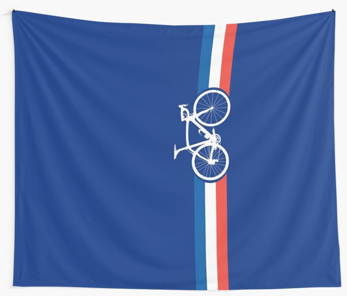Bike Stripes French National Road Race by sher00