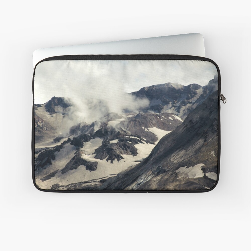 Mount St Helens lava dome closeup Laptop Sleeve