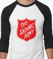the satanic army Men's Baseball ¾ T-Shirt